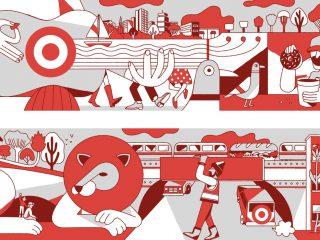 Target Visual Merchandising Wall Graphics: Philadelphia